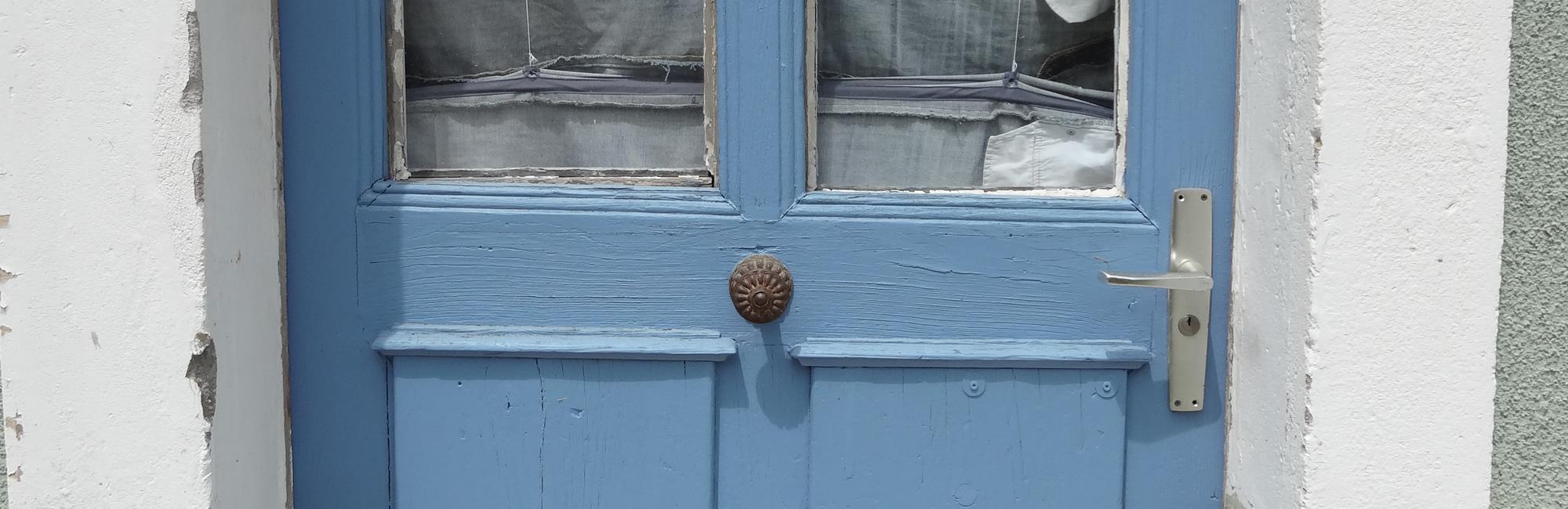 Porte de l'atelier ...dit la Plume