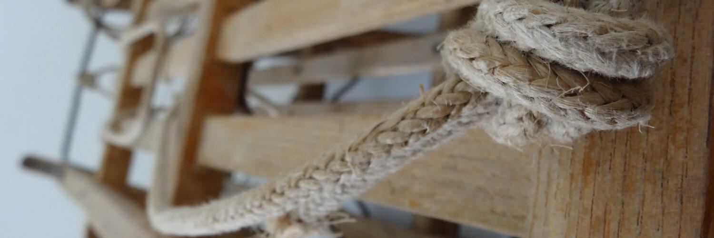 Noeud de corde symbolisant les liens
