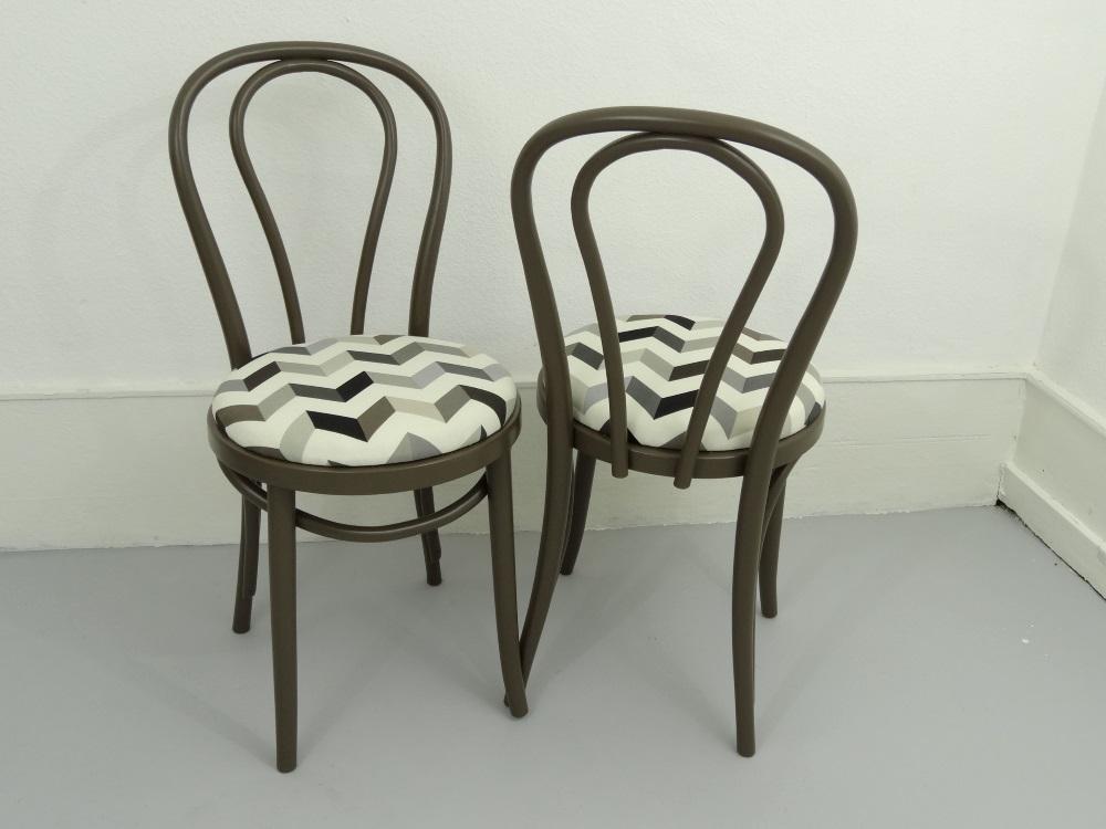 chaises Cappuccino